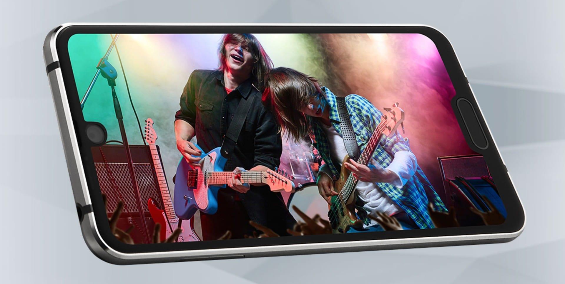 اول هاتف بنتوءان في الشاشة ! 1