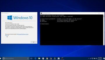 كيف تقوم بتخصيص نافذة Command prompt على Windows 10 7