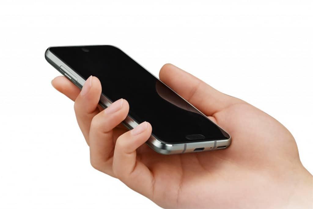 اول هاتف بنتوءان في الشاشة ! 3