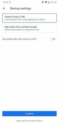 كيف تقوم بإعداد تطبيق Google photos على هاتفك المحمول 3