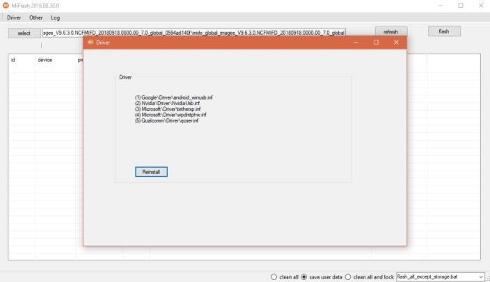 كيف تستعمل Mi flash tool لتثبيت سوفت وير Xiaomi الرسمي 4