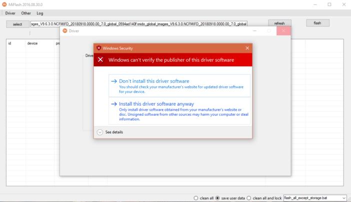 كيف تستعمل Mi flash tool لتثبيت سوفت وير Xiaomi الرسمي 5