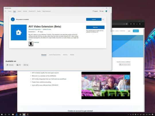 قم بتشغيل ترميز AV1 Codec على Windows 10 1