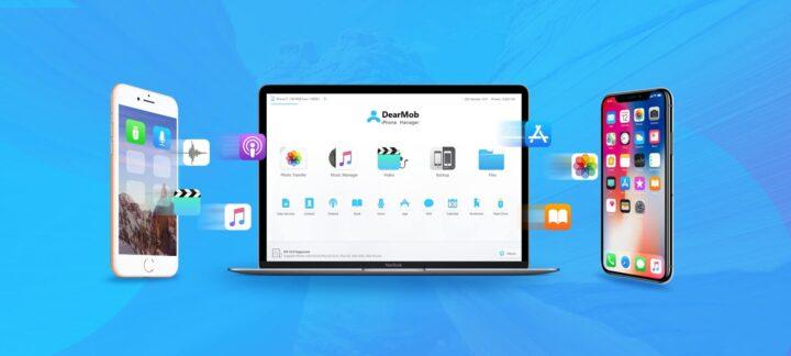 DearMob تطبيق جديد بديل لتطبيق ITunes على اجهزة الكمبيوتر 2
