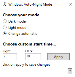 AutoNightMode