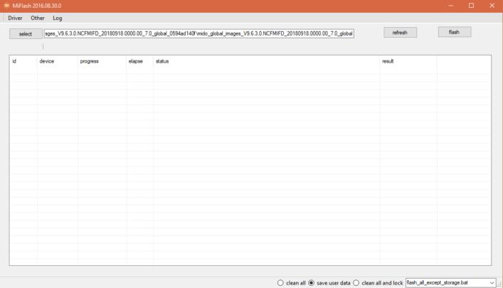 كيف تستعمل Mi flash tool لتثبيت سوفت وير Xiaomi الرسمي 2