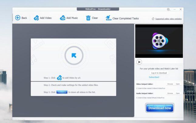تعرف علي محرر الفيديوهات VideoProc لتعديل وتحويل صيغ الفيديوهات 9
