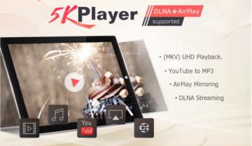 برنامج 5K player : أفضل برنامج مجاني لتشغيل الفيديو على ويندوز 10 و وماك