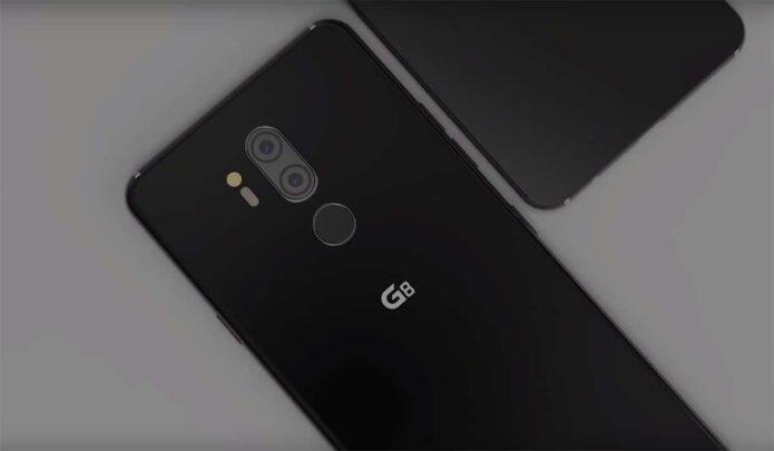 ظهور تسريات عن LG G8 ThinQ بدون سماعة أذن 1