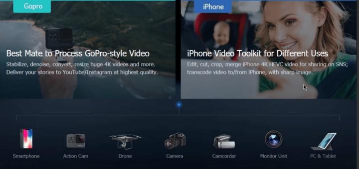 تعرف علي محرر الفيديوهات VideoProc لتعديل وتحويل صيغ الفيديوهات 2