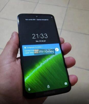 تسريب وصور لهاتف Moto G7 Plus 1