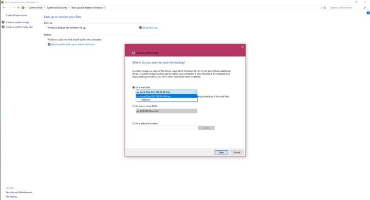 كيف تحتفظ بنسخة احتياطية Backup من نظام تشغيلك على فلاش ديسك USB 4