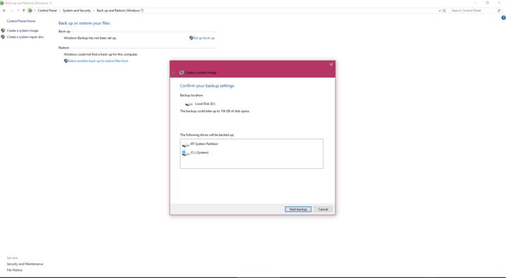 كيف تحتفظ بنسخة احتياطية Backup من نظام تشغيلك على فلاش ديسك USB 5
