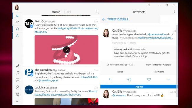 أفضل خمس برامج لتصفح تويتر لنظام ويندوز 10 2