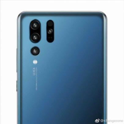 هاتف Huawei P30 Pro سيأتي بأربع كاميرات خلفية 2