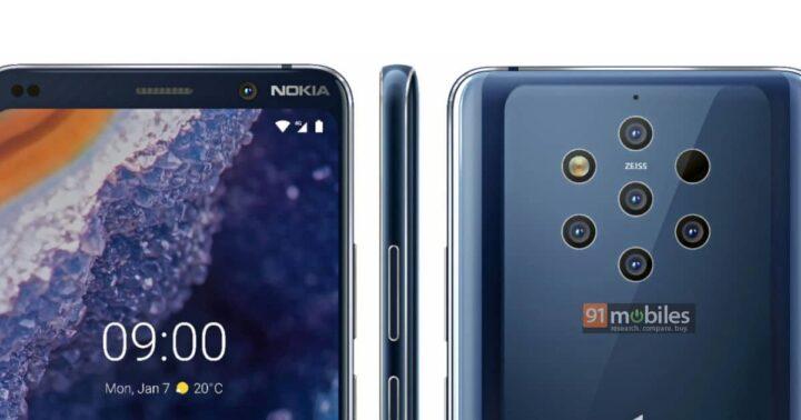 نشر أول صورة من كاميرا هاتف Nokia 9 1