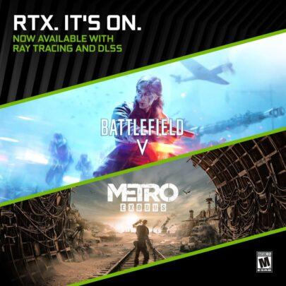 لعبة Metro Exodus تحصل على دعم RTX كامل من نفيديا 1