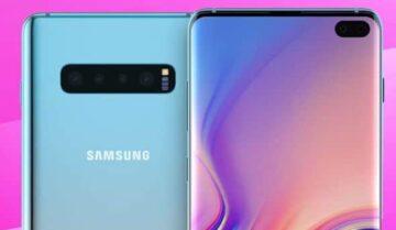 هاتف Galaxy S10 سيدعم الشحن الاسلكي العكسي 5
