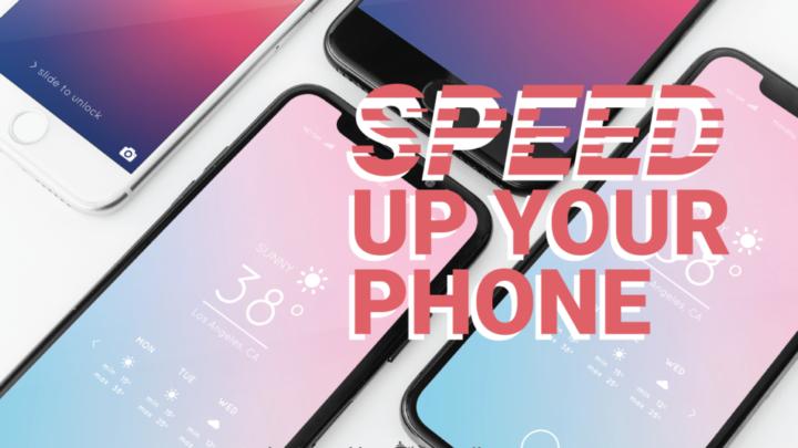 5 خطوات لتزيد من سرعة هاتفك القديم 1