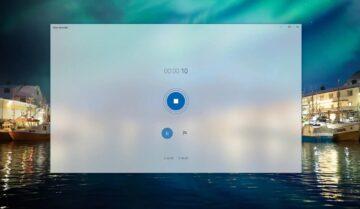 مسجل صوت Voice Recorder مجاني و خاص بنظام ويندوز Windows 10 مع الشرح 4