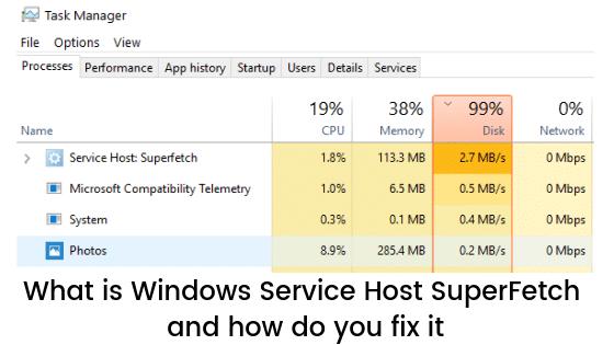 علاج مشكلة Windows Service Host Superfetch بشكل نهائي 1