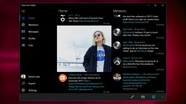 أفضل خمس برامج لتصفح تويتر لنظام ويندوز 10 3