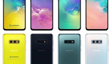 مبيعات Galaxy S10 مرتفعة عن مبيعات Galaxy S9 في العام الماضي
