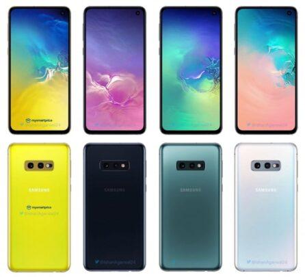 تسريب سعر Galaxy S10e وألوانه 2