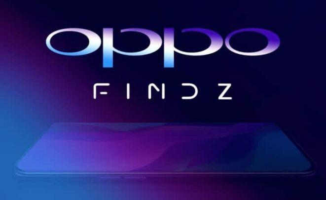 تسجيل علامة Find Z من قبل شركة Oppo 1