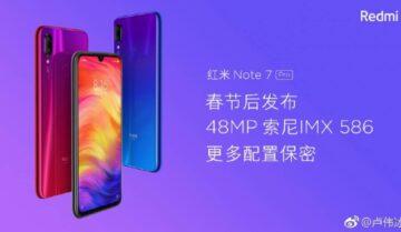 الإعلان عن Redmi Note 7 Pro الإسبوع القادم 14