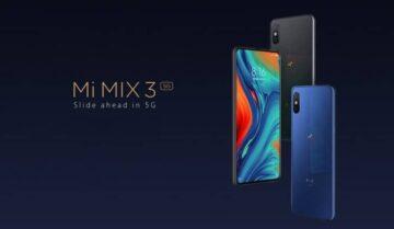 هاتف Mi Mix 3 سيكون اول هاتف 5G من شاومي 6