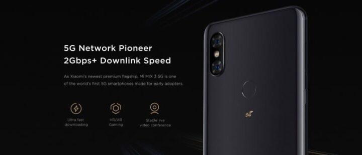 هاتف Mi Mix 3 سيكون اول هاتف 5G من شاومي 1