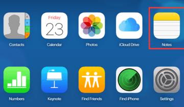 كيف تستخدم برنامج iCloud Notes على ويندوز 10 11