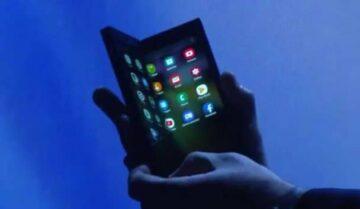 تسريب فيديو عن هاتف سامسونج القابل للطي بالخطأ 5