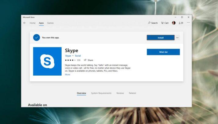 كيف تزيل برنامج Skype من نظام ويندوز 10 4