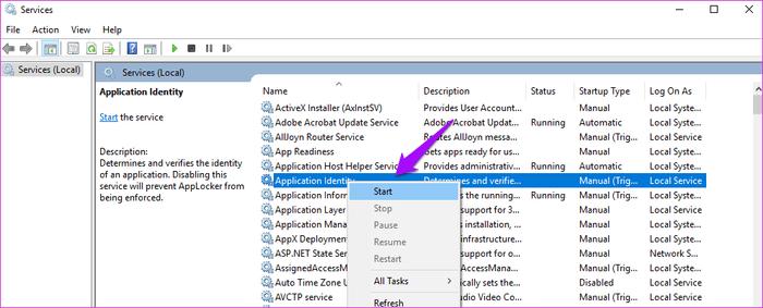 قائمة Start Menu لا تظهر ؟ حلول المشكلة على Windows 10 6