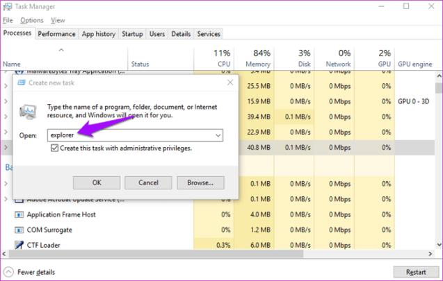 File Explorer لا يعمل او لا يستجيب بعض الحلول على Windows 6