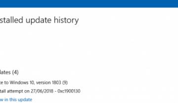 كيف تصلح خطأ تحديث الويندوز رقم 0xc1900130 10