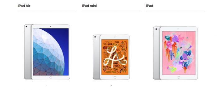 آبل تعلن عن iPad Air 3 و iPad Mini 5 2