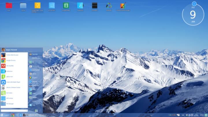 أفضل توزيعات لينكس تبدو مثل Windows 10 3