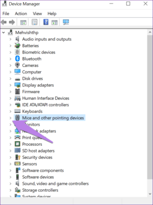 Synaptics TouchPad تعاني من اختفاء الإعدادات اليك طريقة الحل 3