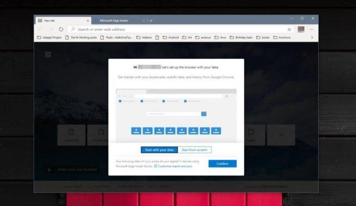 كيف  تجرب نسخة متصفح Edge الجديدة اليوم 2