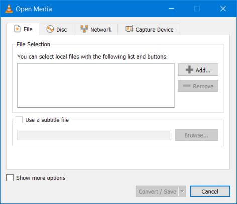 كيف تقوم بتحويل الفيديوهات بإستخدام VLC 3