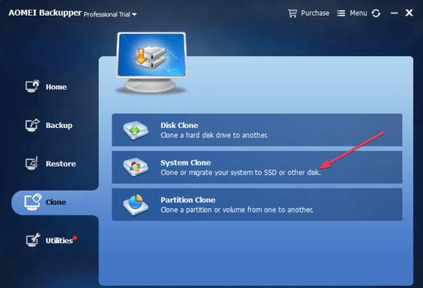 كيف تنقل ويندوز 10 إلى قرص SSD دون إعادة تثبيته 2