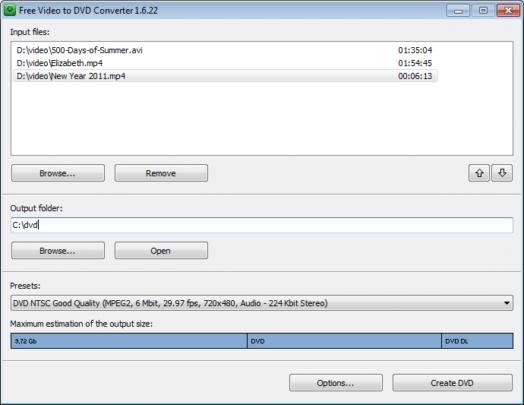 برامج مجانية لصناعة أقراص DVD على ويندوز 10 5