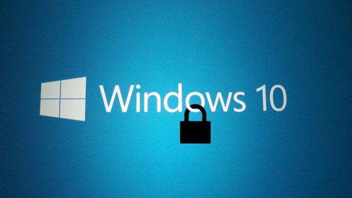 4 طرق سهلة لتزيد من تأمين Windows 10 1