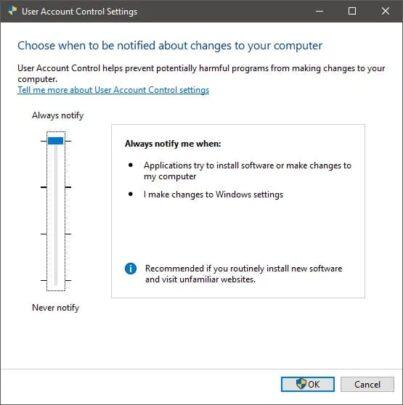 4 طرق سهلة لتزيد من تأمين Windows 10 6