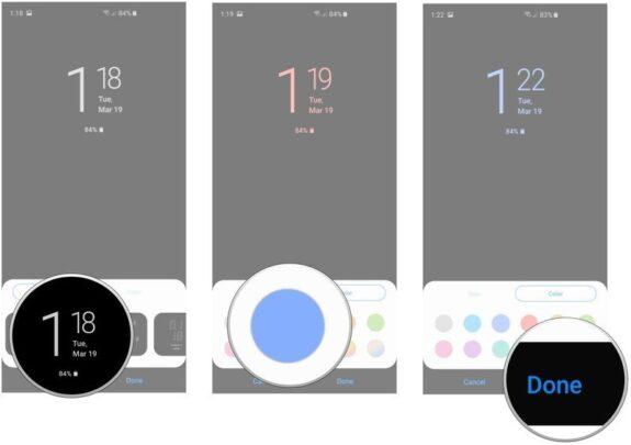 كيف تتحكم في خاصية Always on Display في Galaxy S10 4