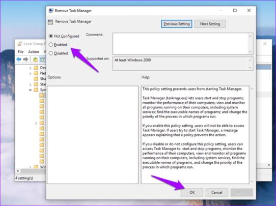 Task Manager لا يعمل على نظام Windows 10 اليك بعض الحلول 6