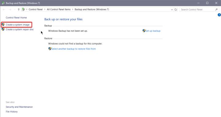 كيف تقوم بأخذ نسخة كاملة من ويندوز 10 بدون برامج طرف ثالث 4